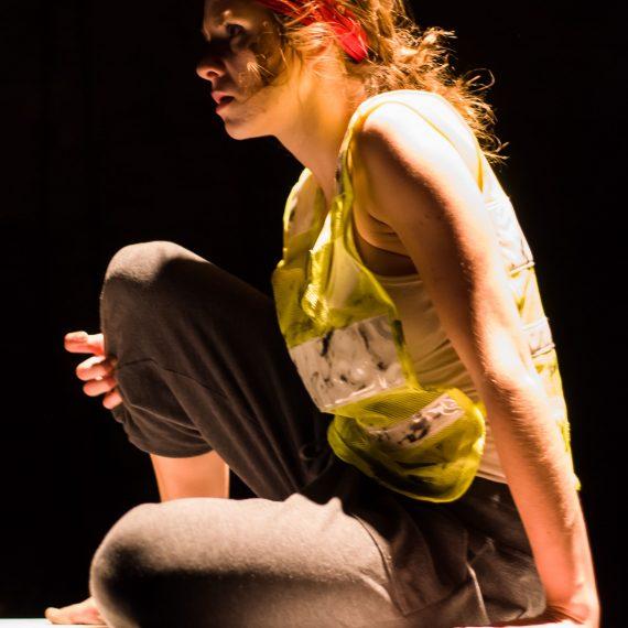 Kristina Stephenson in HEART OF DARKNESS (Photo by Constant de la Cruz)
