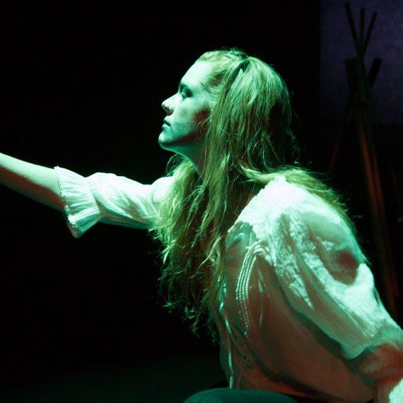 Jennifer LeBlanc in Quest (Photo: Mark Unrau)